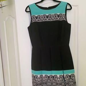 Tahari fit and flare dress-size 6